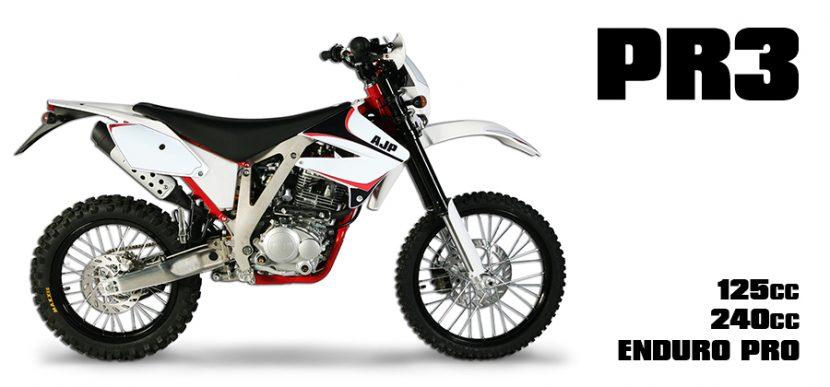 Présentation de la moto 125 Ajp PR4 Enduro